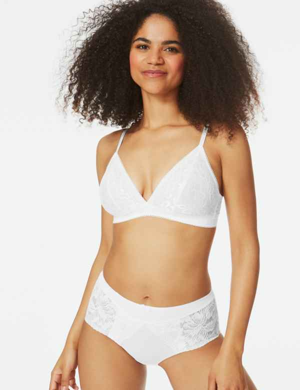 c0a3e9f840 Lace Non-Wired Bralet