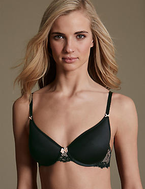 Lace Full Cup Spacer Bra A-E