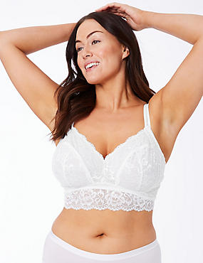 Lace Non-Padded Bralet DD+