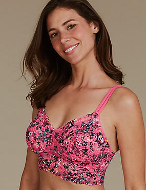 Lace Non-Padded Set with Bralet DD+