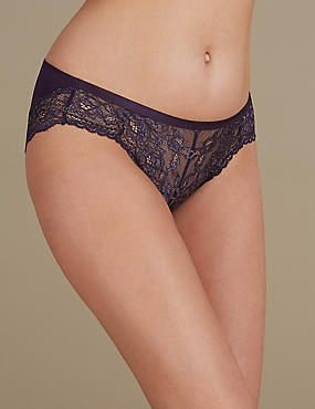 Louisa Lace High Leg Knickers