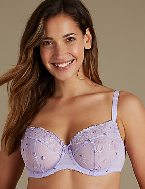2 Pack Non-Padded Balcony Bras A-E