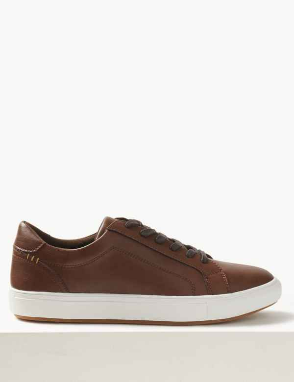 3a53737fa1 Lace-up Trainers