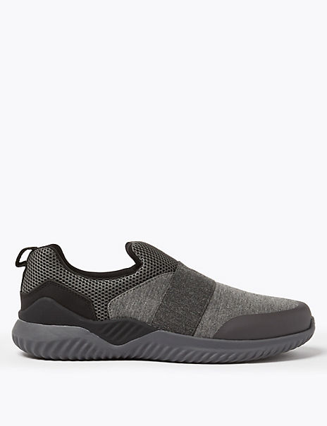 Light As Air Slip-on Elastic Trainers