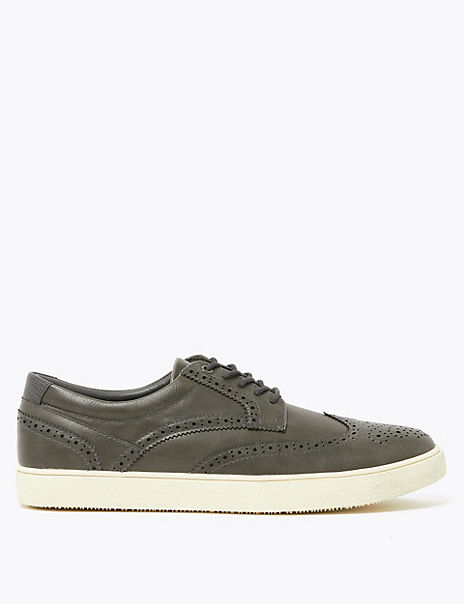 Brogue Cupsole Trainers