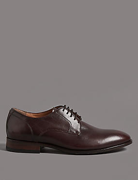 Leather Gibson Lace-up Shoes