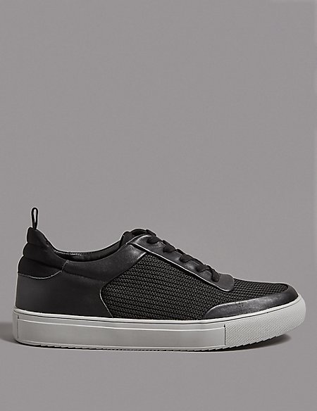Smart Mesh Lace-up Trainers