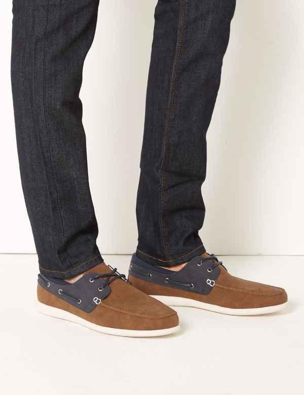 c65b756822 Lace-up Boat Shoes
