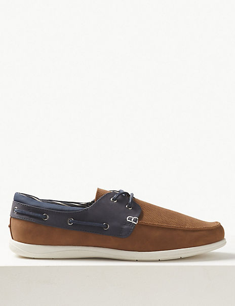 Lace-up Boat Shoes