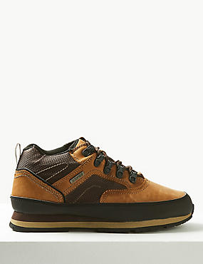 Leather Lace-up Walking Boots