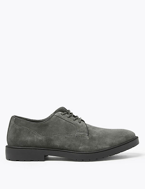 Suede Heavyweight Derby Shoes