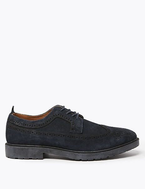 Suede Heavyweight Brogues