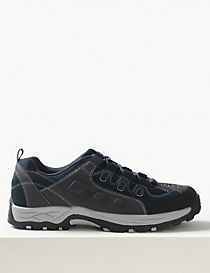 Leather Ghillie Lace-up Trainers