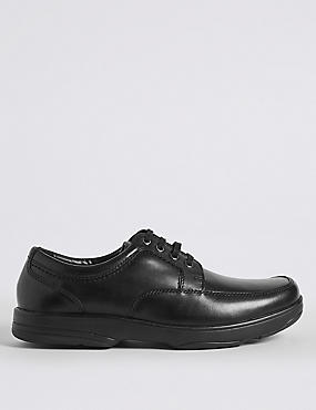Big & Tall Extra Wide Fit Leather Shoes