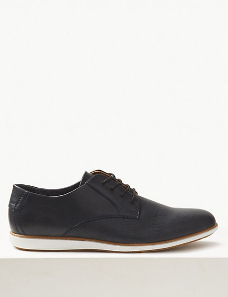 Lace-up Derby Shoes with Freshfeet™