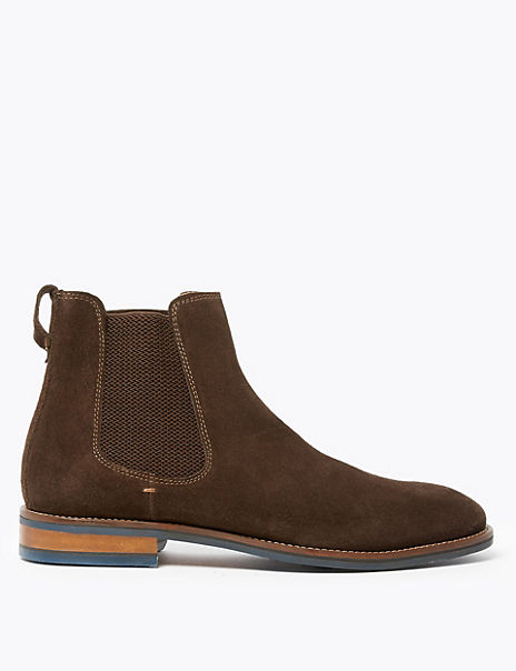 Suede Chelsea Boots