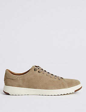 Suede Nimbus Lace-up Trainers