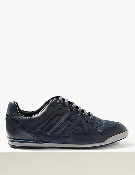 Clearance Ebay Marks and Spencer Lace-up Fashion Trainers navy Professional For Sale Cheap Original Online Cheap Price Cheap Order 0VgoO