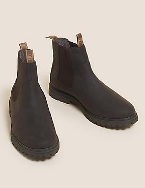 Waterproof Leather Chelsea Boot