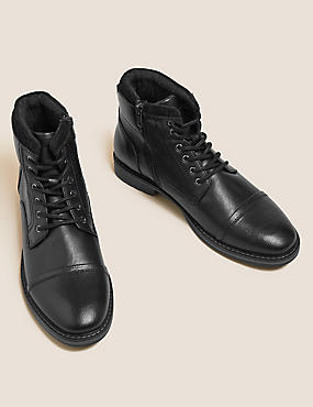 Side Zip Casual Boots