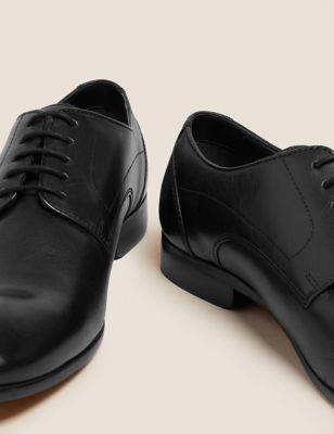 d3f266060b Leather Almond Toe Lace-up Derby Shoes £55.00