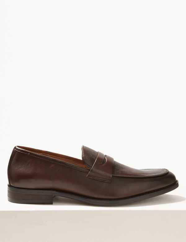 df0154fd1265 Leather Slip-on Loafers