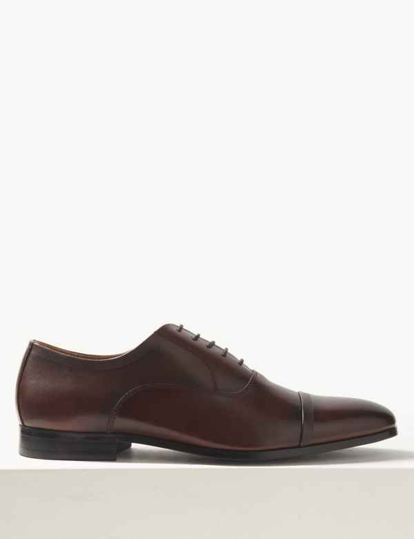 ecabf3e702f Leather Lace-up Oxford Shoes