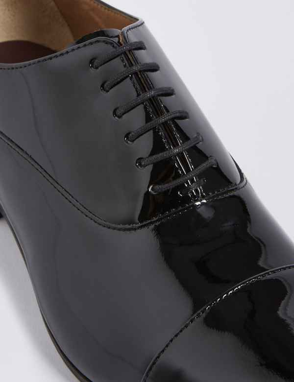 4e2361823eaa Extra Wide Fit Leather Lace-up Shoes