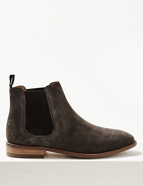3ac09b82b Suede Chelsea Boots | M&S Collection Luxury | M&S