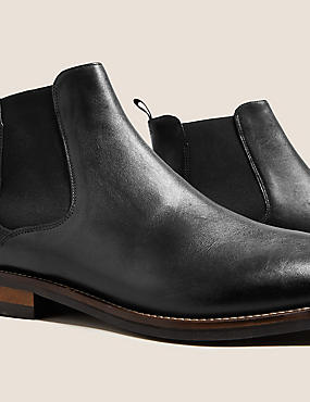 Leather Chelsea Boots