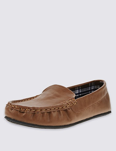 Freshfeet™ Moccasin Slippers with Thinsulate™