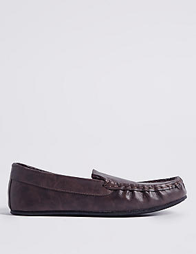 Moccasin Slippers with Thinsulate™