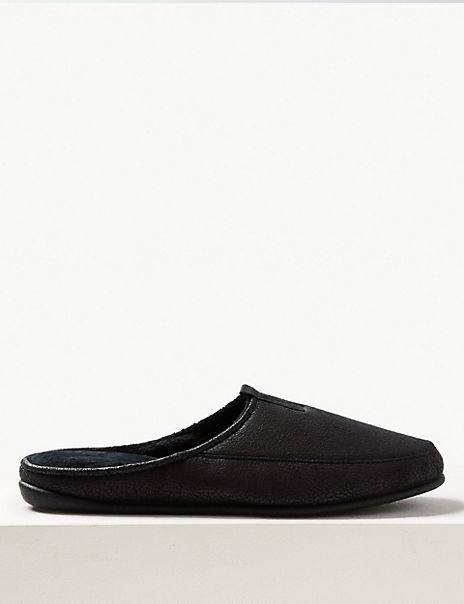 Slip-on Mule Slippers with Freshfeet™