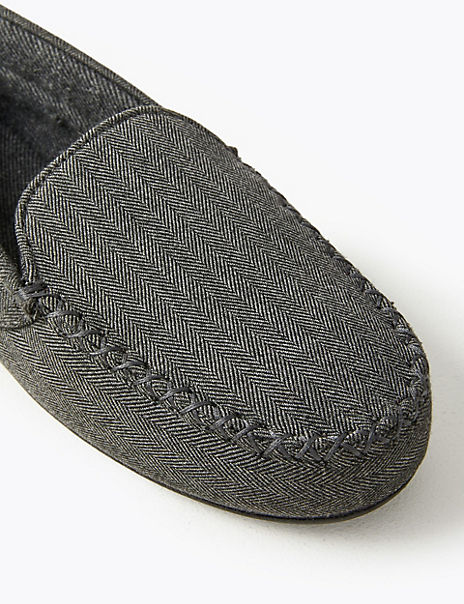 Slip-on Moccasin Slippers with Thermowarmth™