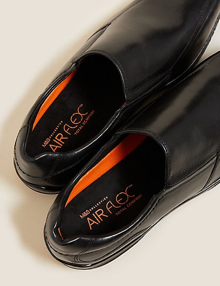Leather Slip-on Shoes with Airflex™