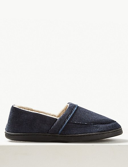 Big & Tall Slip-on Slippers with Thinsulate™