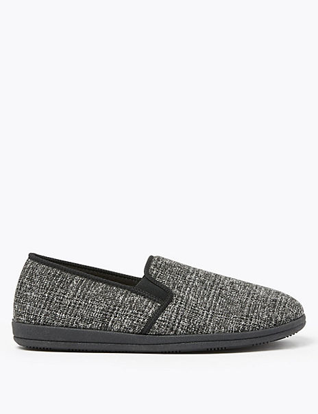 Textured Slippers
