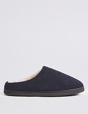 Felt Mule Slippers with Thinsulate™