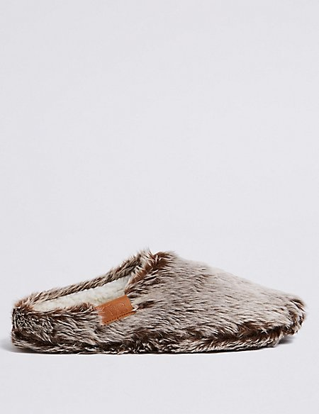 Slip-on Mule Slippers with Thinsulate™