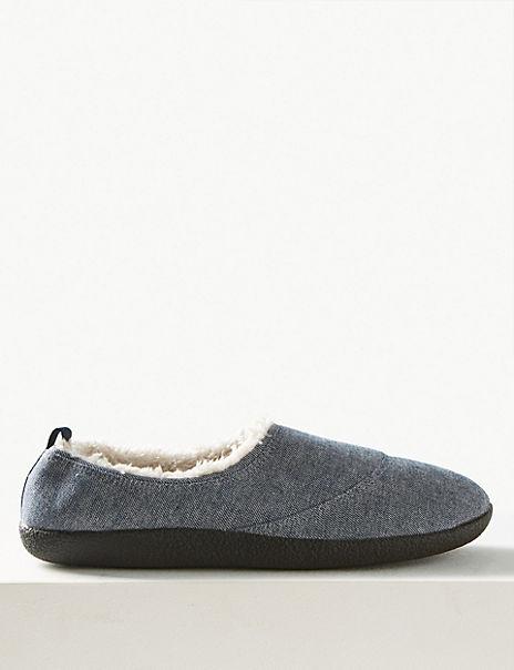 Slip-on Mule Slippers