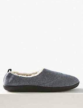 Slip-on Mule Slippers