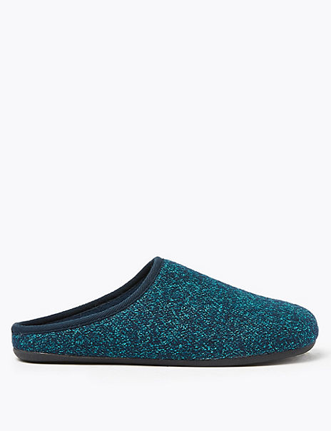 Speckled Mule Slippers
