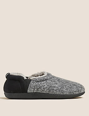 Fleece Lined Slippers with Freshfeet™