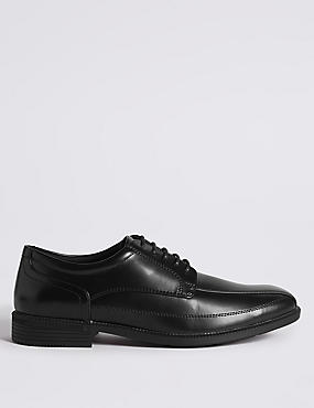 Big & Tall Tramline Lace-up Shoes