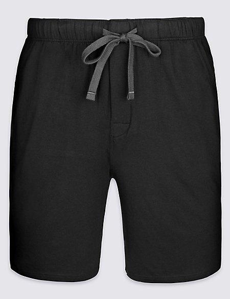 Slim Fit Supersoft Pyjama Shorts