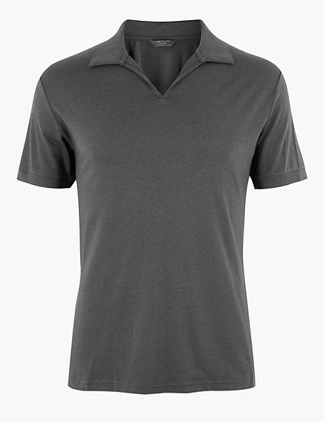 Supima® Cotton Blend Pyjama Top