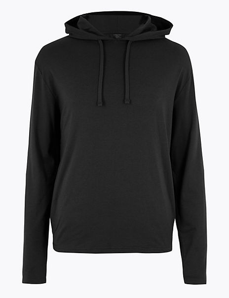 Supima® Cotton Blend Flexifit™ Hoodie