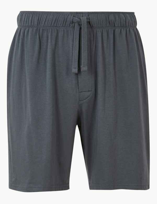 0718d2ec91d Supima® Cotton Blend Shorts with Stretch