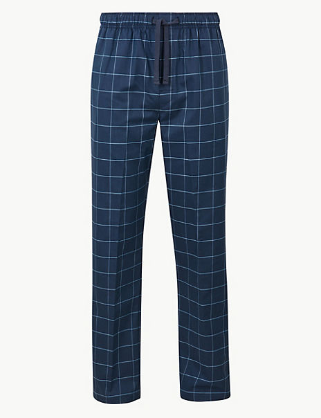 Supima® Cotton Long Pyjama Bottoms