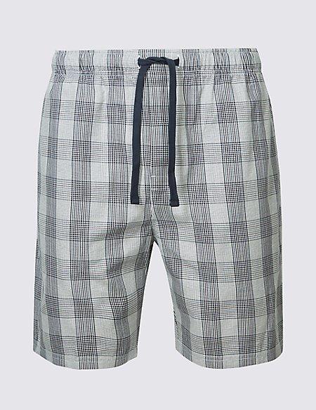 Supima® Cotton Slim Fit Pyjama Shorts
